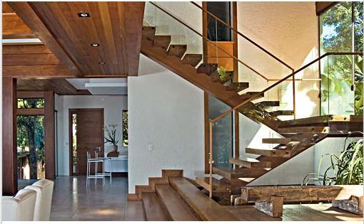 escadas rusticas jardins:Queríamos algo que ficasse exatamente como abaixo, apenas com o