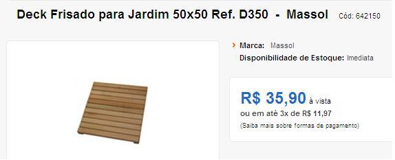 deck jardim de inverno:Faça Você Mesmo: Mini Deck de Madeira pra Jardim