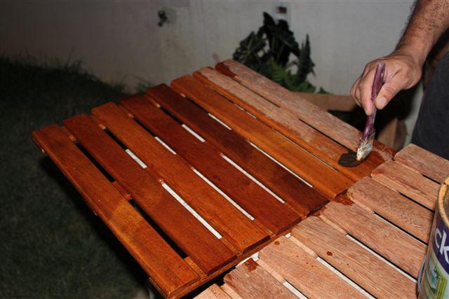 jardim deck de madeira:Faça Você Mesmo: Mini Deck de Madeira pra Jardim