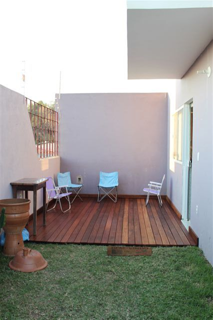 deck em jardim pequeno : deck em jardim pequeno: passo que fizemos, que tem outros detalhes de como fazer o deck
