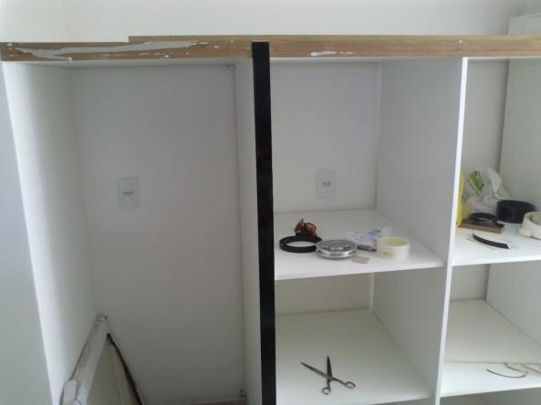 Fiz Como em Dias a Dois Armário da Cozinha  Dias a Dois -> Armario Para Banheiro Faca Voce Mesmo
