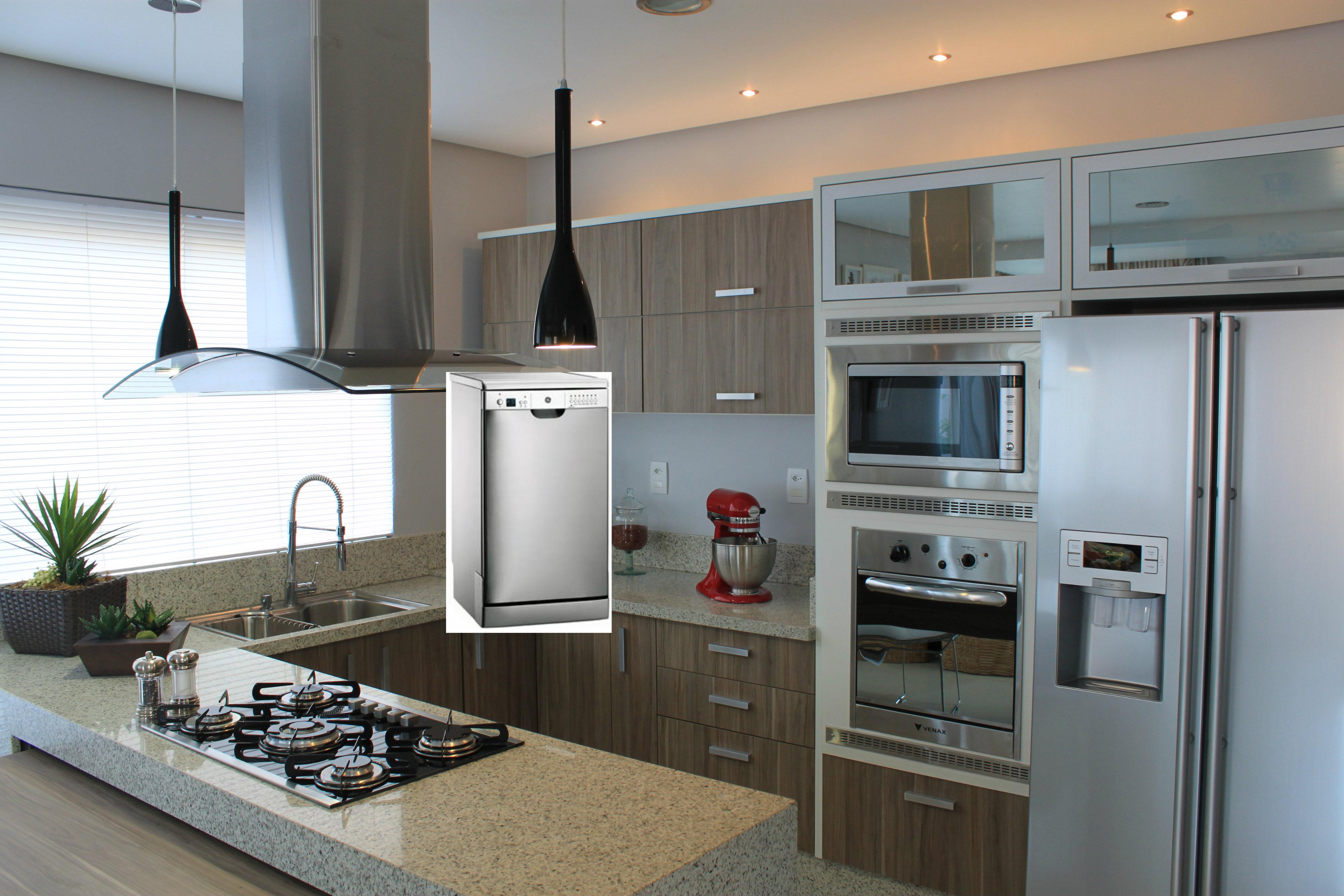 Cozinha Com Eletrodomesticos Branco Oppenau Info
